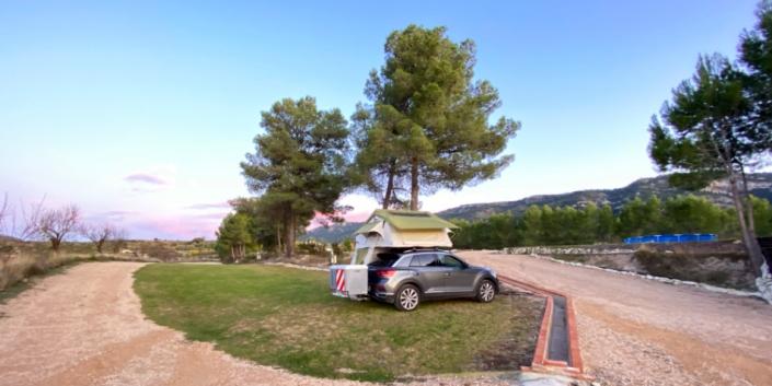 Pasamos el día en Alfafara Camper Park