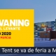 Cartel de feria del Caravaning y camper de levante en enero del 2020