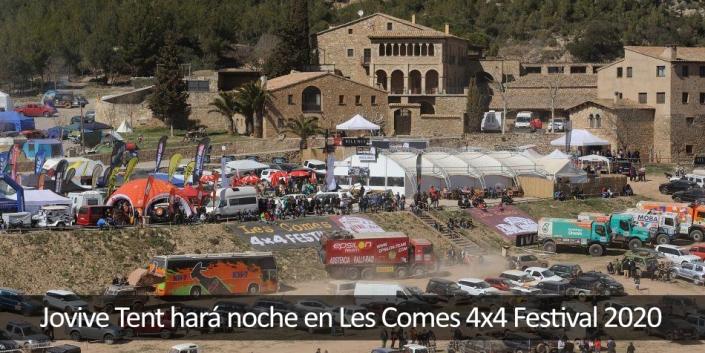 Vista aérea Les Comes y vehiculos