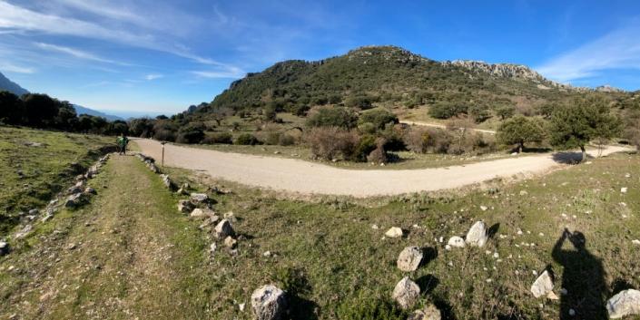Vista aérea de La ruta del Pinsapar