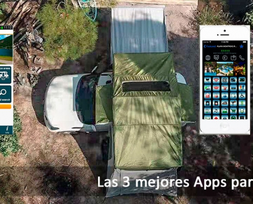 Banner de apps para acampar