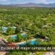 Vista aérea camping el Escorial