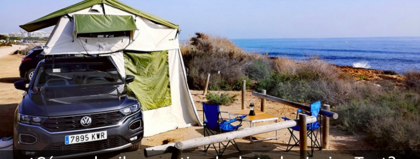 Foto del articulo sobre como alquilar una tienda de techo Jovive Tent