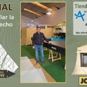 Banner del tutorial de como instalar la tienda para techo Jovie Tent