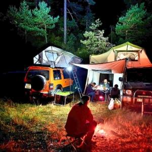 camping para techo de coche