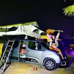 tienda campaña techo furgoneta