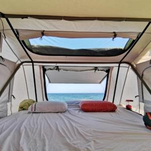 tienda de campaña de techo