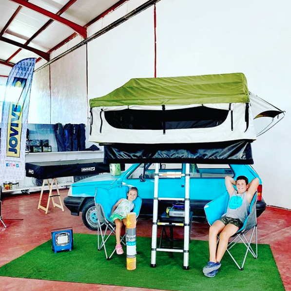 Tienda techo coche Jovive