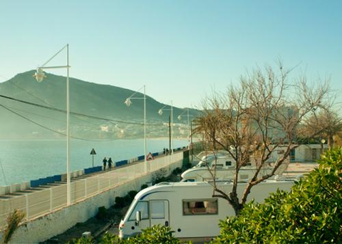 San antonio camper park acampar Tienda de techo